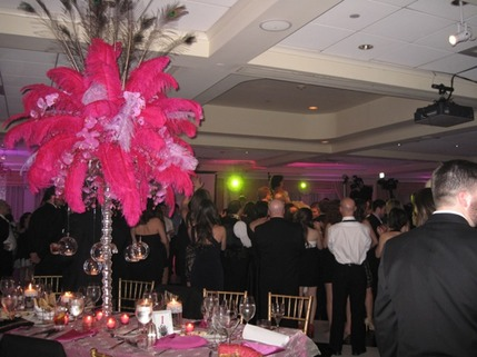 Bat Mitzvah party in full swing