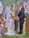 wedding painting wedding vows