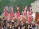 wedding painting:  Bridesmaids