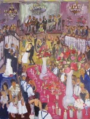 A Wedding Painting is a Family Portrait