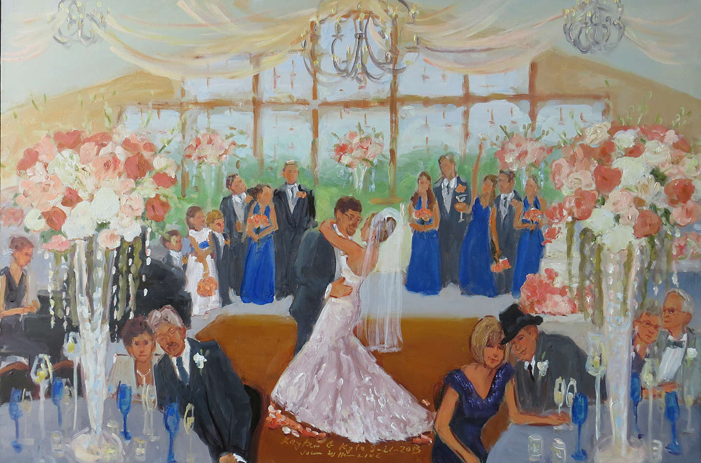 Image result for live painter wedding