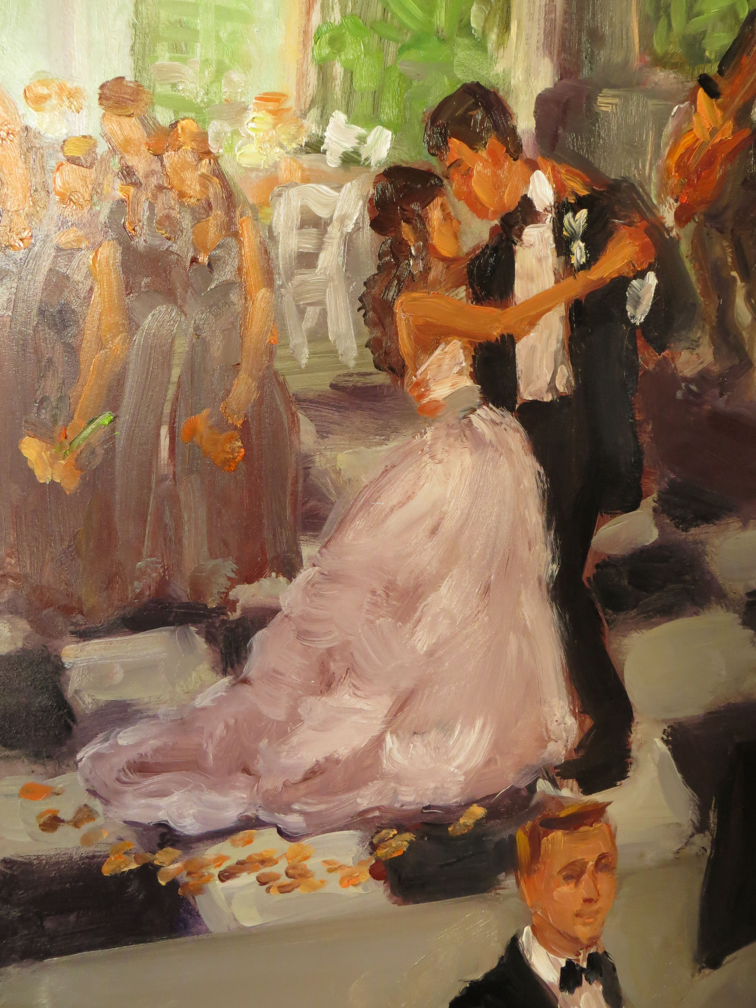 Close Ups Louisville Wedding Painting Live Event